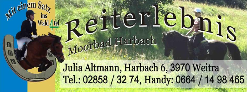 Reiterlebnis Moorbad Harbach